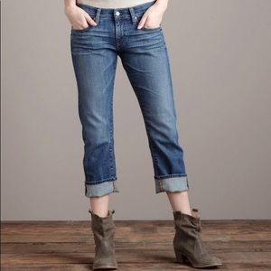 AG Tomboy Crop Jeans, Relaxed Fit